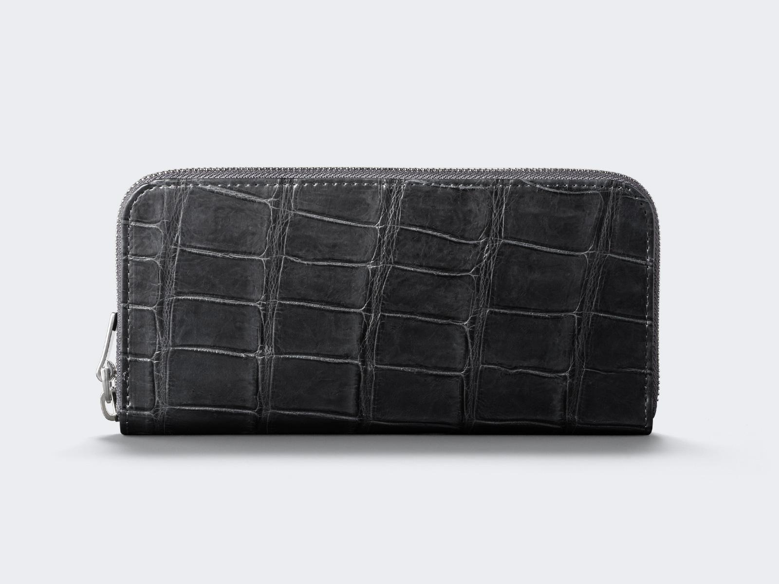 19063ec892c5 90-20002 [送料無料] Crocodile Leather 【aniary|アニアリ】 ウォレット 長財布 Goods クロコダイルレザー